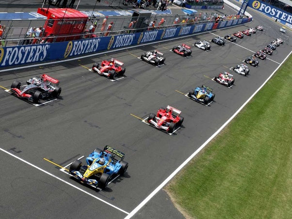 The Starting Grid is Posted and Ready for Raceday!