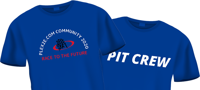 Plex2E Conf Shirts